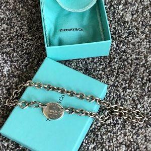 Tiffany necklace choker